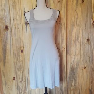 Banana Republic taupe tank dress